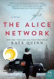Cover image for The Alice Network by Kate Quinn