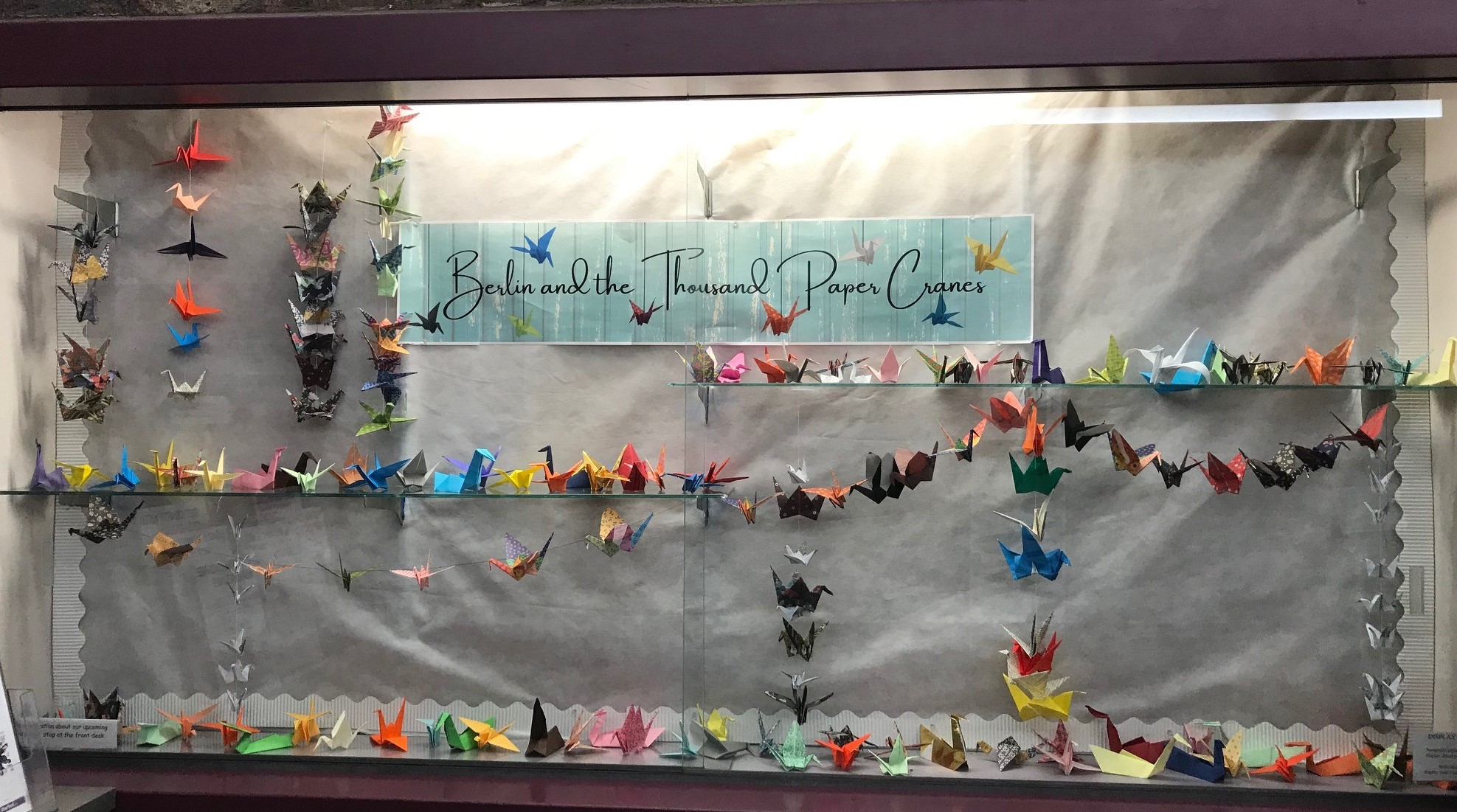 Berlin and the Thousand Paper Cranes