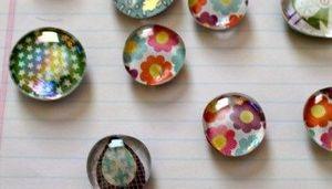 Grab & Go Activity Kit: Glass Pebble Magnets (For Tweens/Teens Gr. 4+)