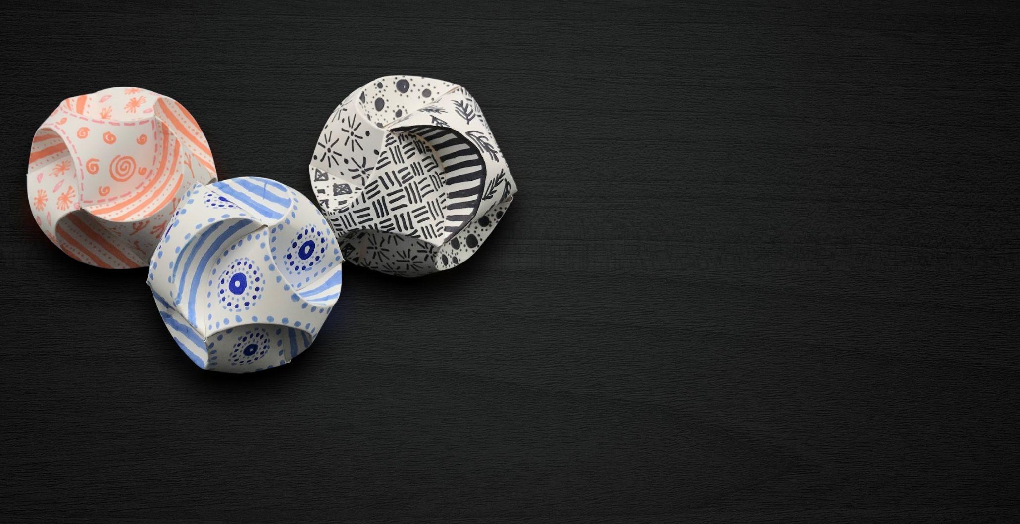 Take & Make Paper Orbs