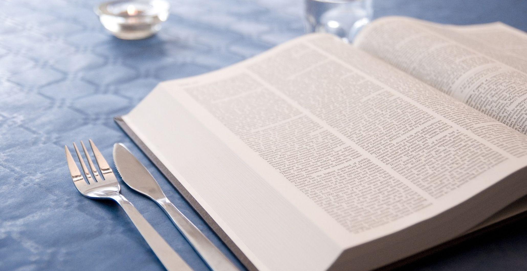 Book Tasting Menu