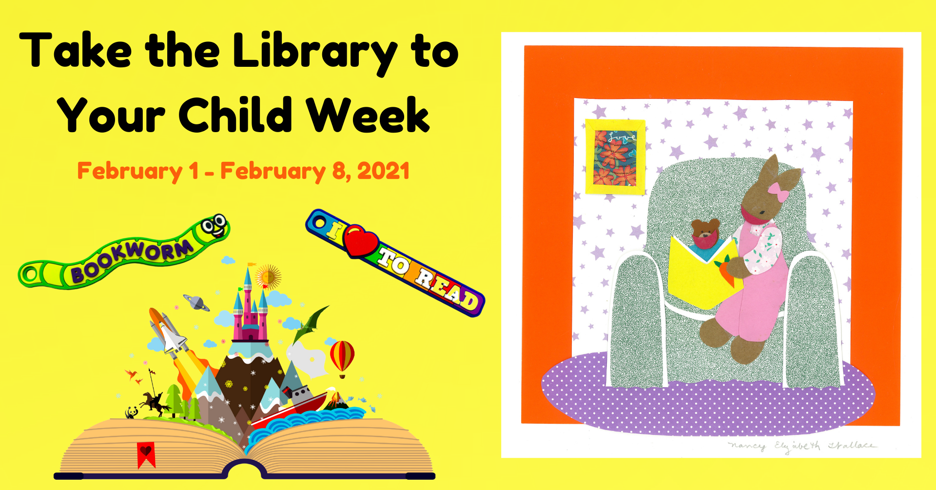 Take the Library to Your Child Week