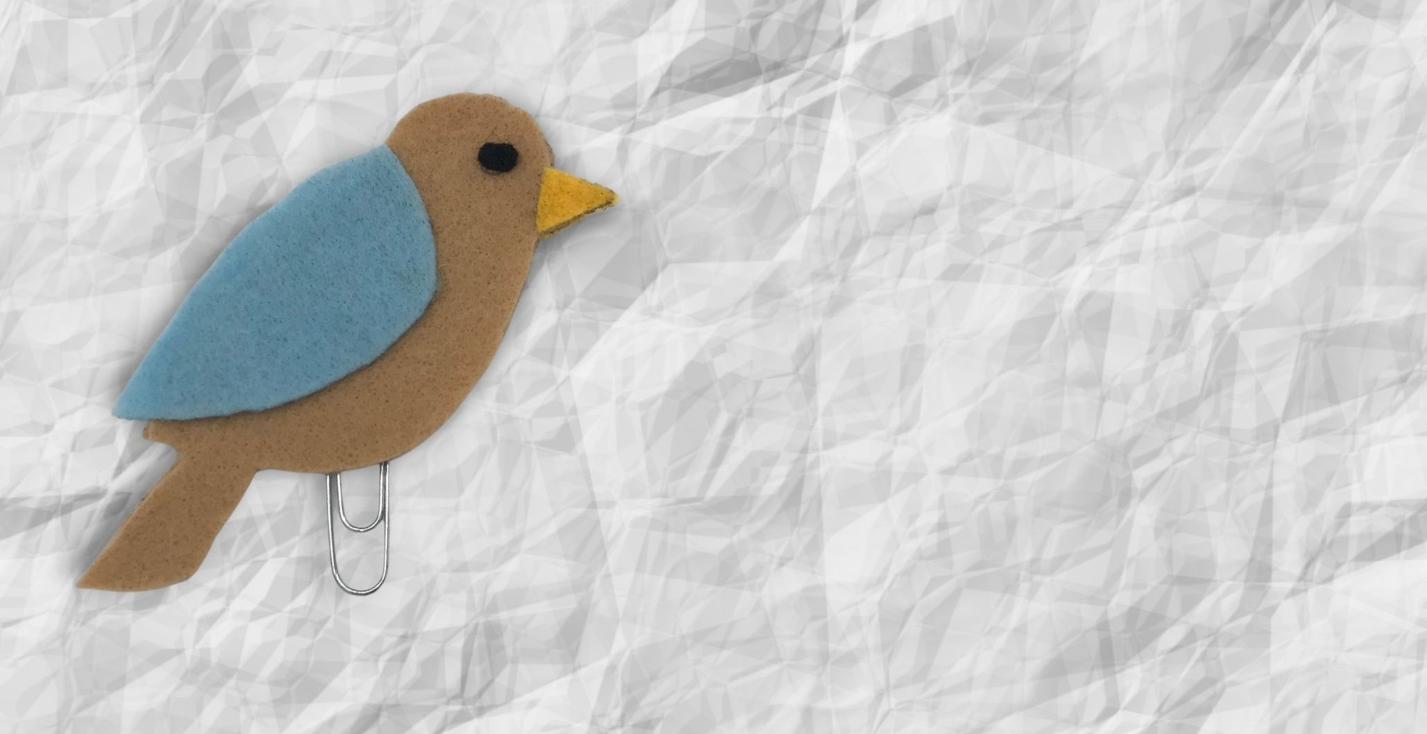Take & Make Felt Bird Bookmarks