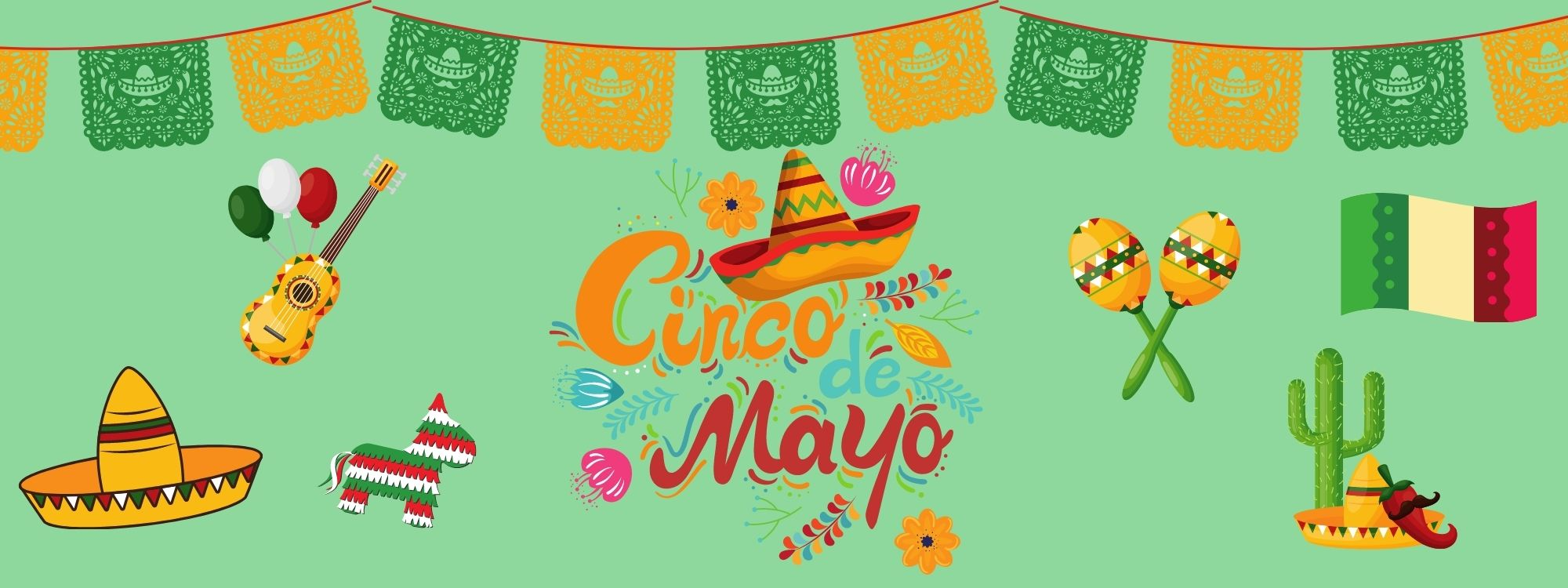 Grab & Go Activity Kit: Cinco De Mayo Piñata (For Ages 3+)