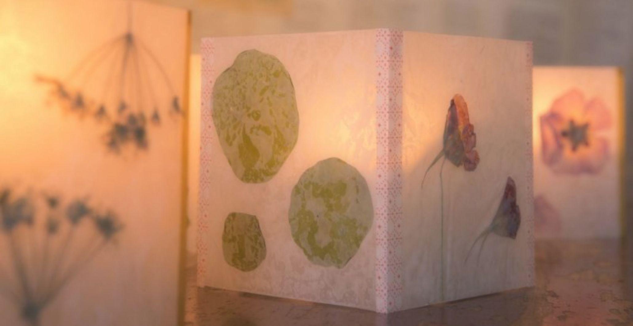 Take & Make Kit: Pressed Flower Luminarias