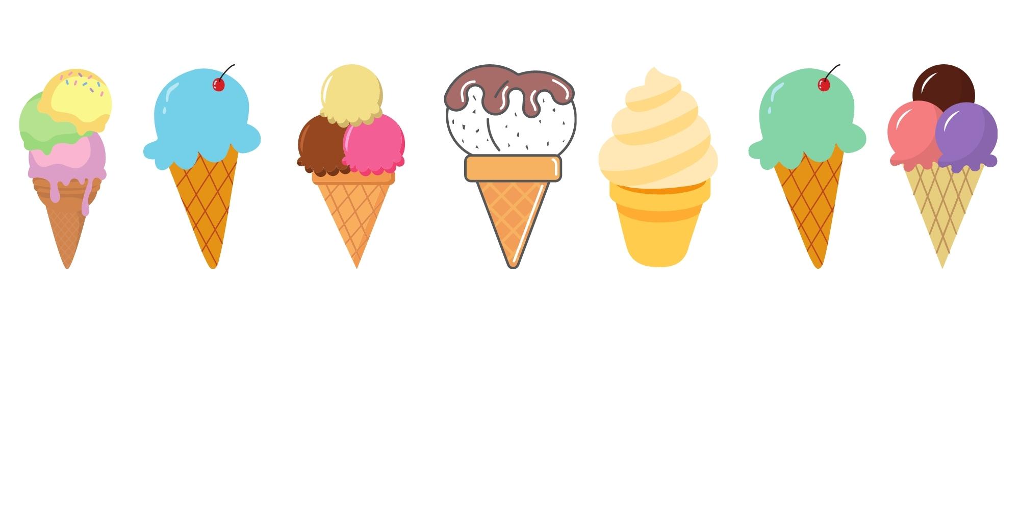 FULL Grab & Go Activity Kit: Ice Cream Craft (For Children Ages 2-5)