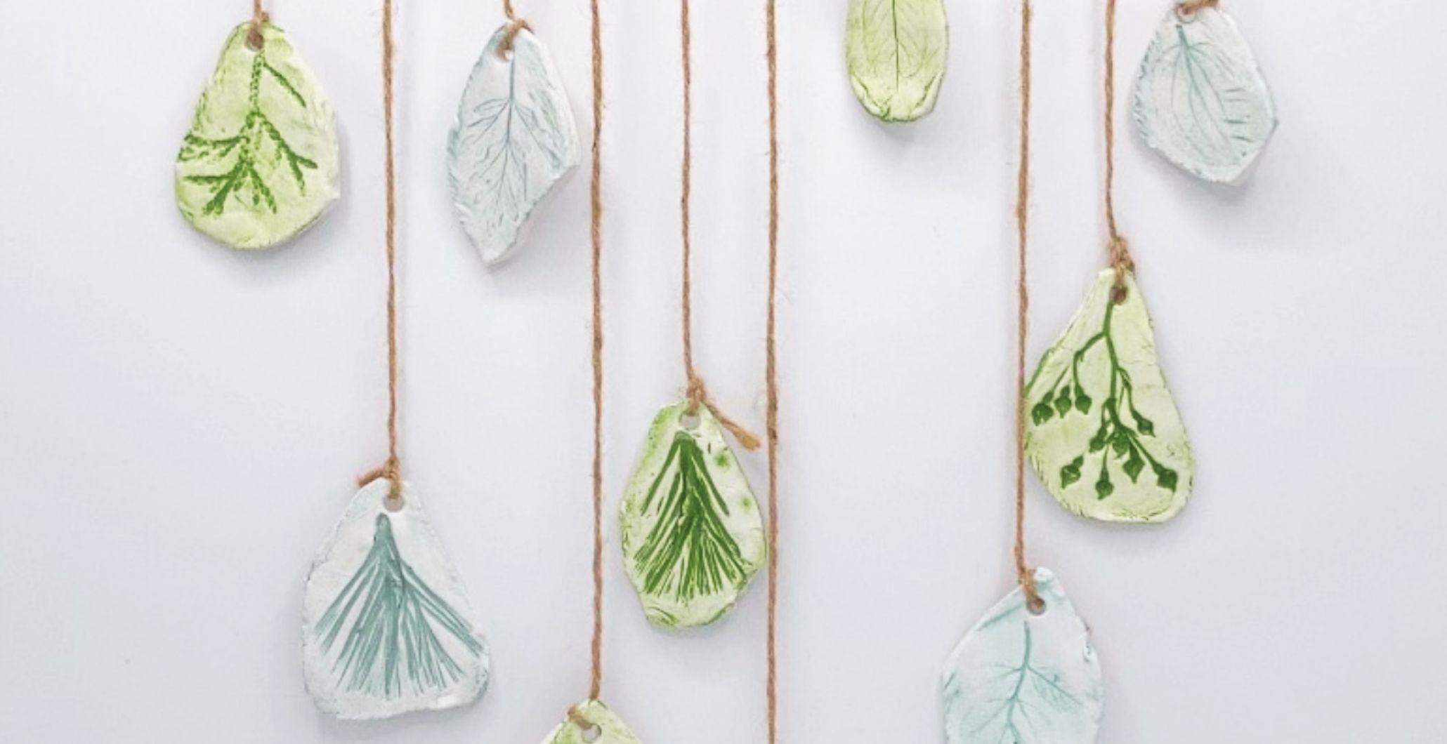 Take & Make Kit: Botanical Clay Mobile
