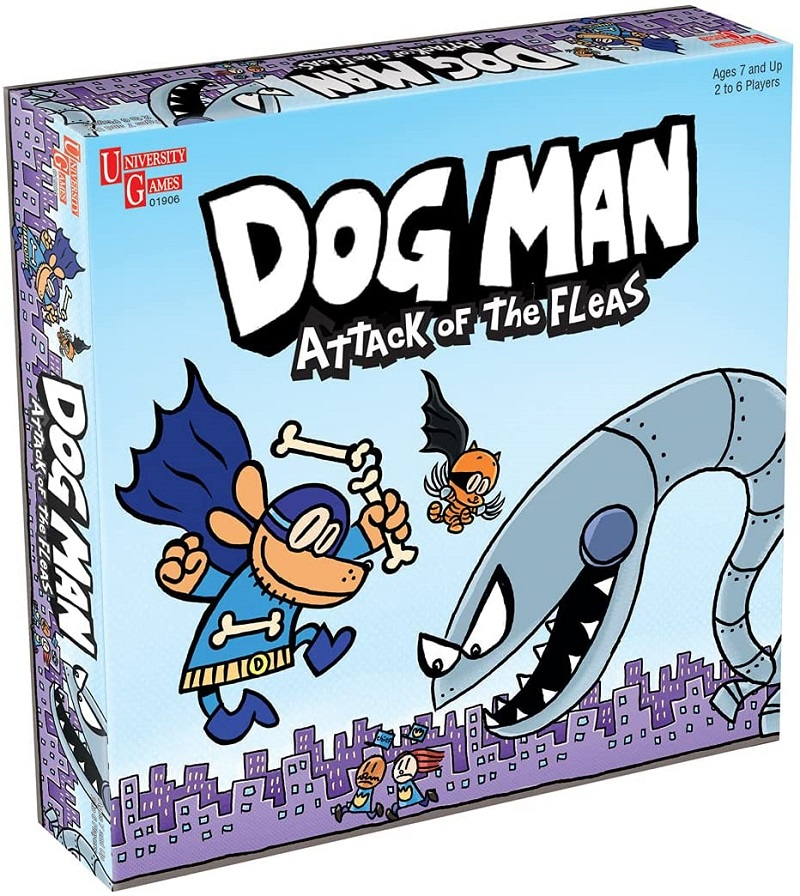 Dog Man: Attack of the Fleas