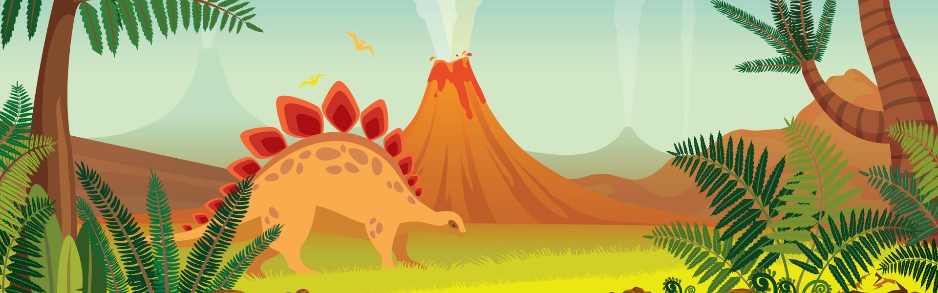 Grab & Go Kit: Standing Stegosaurus (Gr. K-5)
